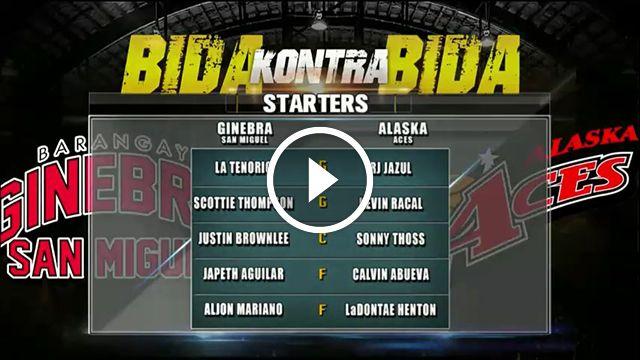 PBA GAME REPLAY: Bgry. Ginebra vs Alaska [QUARTERFINALS] - September 23, 2016