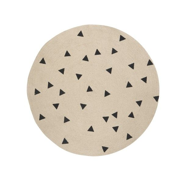 Round Carpet Triangle vloerkleed | Ferm Living