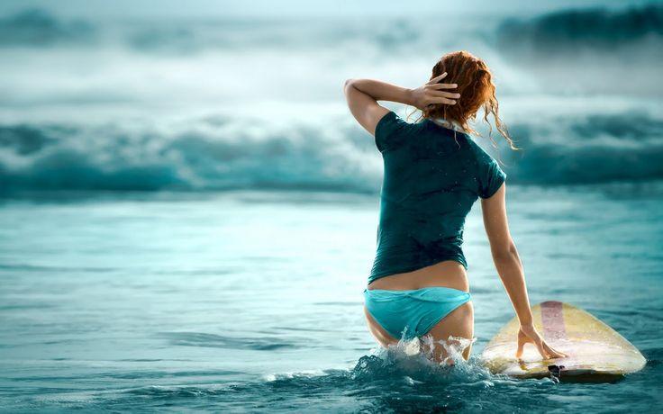 surf: Beaches Hair, Bucketlist, Buckets Lists, Girls Generation, Surfing Girls, Ocean Waves, Surfers Girls, The Waves, Surfgirl