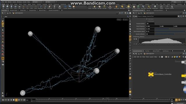 Here is the  Electric Beam tool that I have been working on inside Houdini.   You'll be able to use it inside Houdini and a game engine as an HDA from Houdini. It's not finished however for those of you who have been asking about it here, you go.  https://www.dropbox.com/sh/79h0cpokvxggetg/AAB3vF2JSVDUzZ6goCXJWav_a?dl=0    The link above has a scene and HDA files. This is still a work in progress but have fun with it   Thanks to Jake Rice and Hazem Mohamed Sabry for their pointers.    How to…