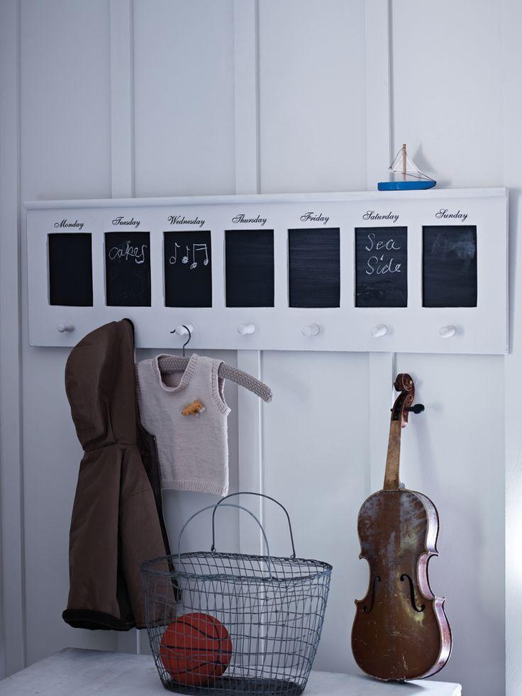 Blackboard Peg Rack