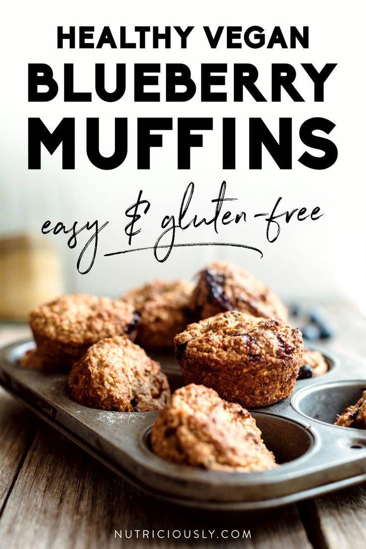 Gluten Free Vegan Blueberry Muffins Recipe Vegan Blueberry