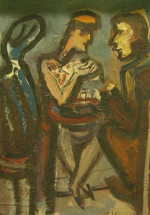 Pravoslav Kotík - V kavárně