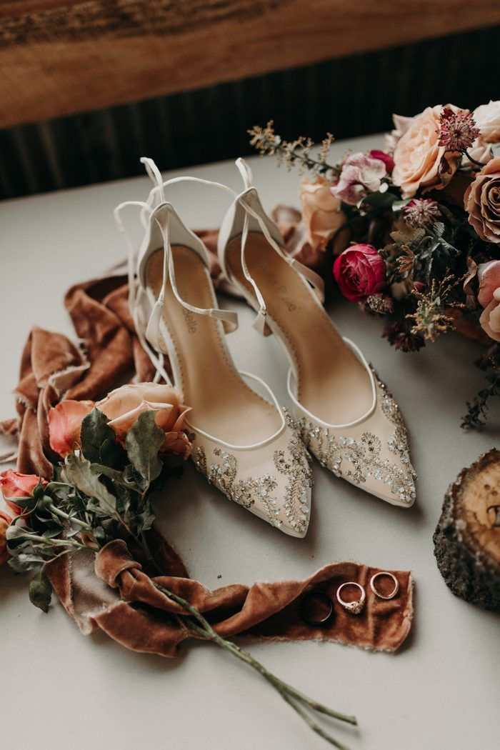 Elegant And Vintage Inspired Wedding Shoes With A Touch Of Sparkle Image By Peyton Wedding Shoes Photography Vintage Inspired Wedding Shoes Fun Wedding Shoes