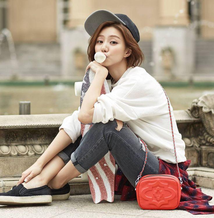 Park Soo Jin - orYANY F/W 2014