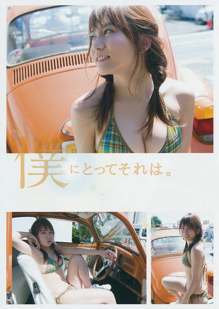 SKE48 Mina Oba Hikari on Young Gangan Magazine