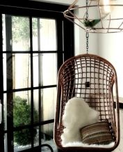 Hangstoel Donker Rotan, The Classic