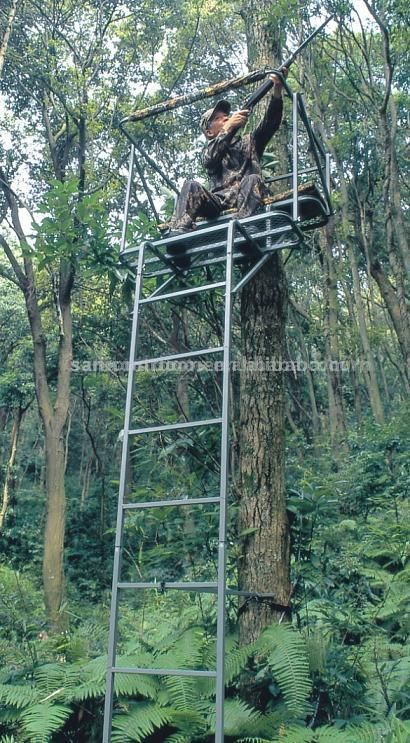 65 best tree stands images on pinterest tree stands for Climbing tree stand plans