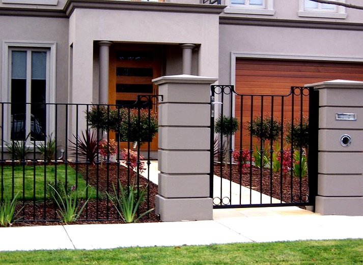 Perimeter Fence Design 9 best gate images on pinterest house exteriors house siding and custom brick fences designs and builds a huge variety of brick fencing types and styles workwithnaturefo