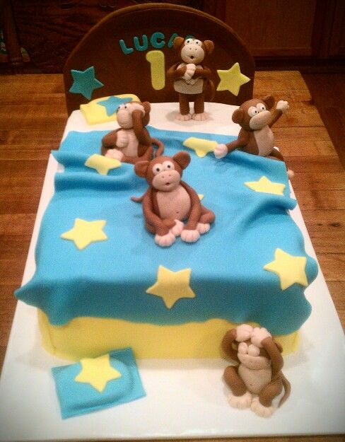 Monkey S Jumping On The Bed Cake Jo S Fatastic Cakes In