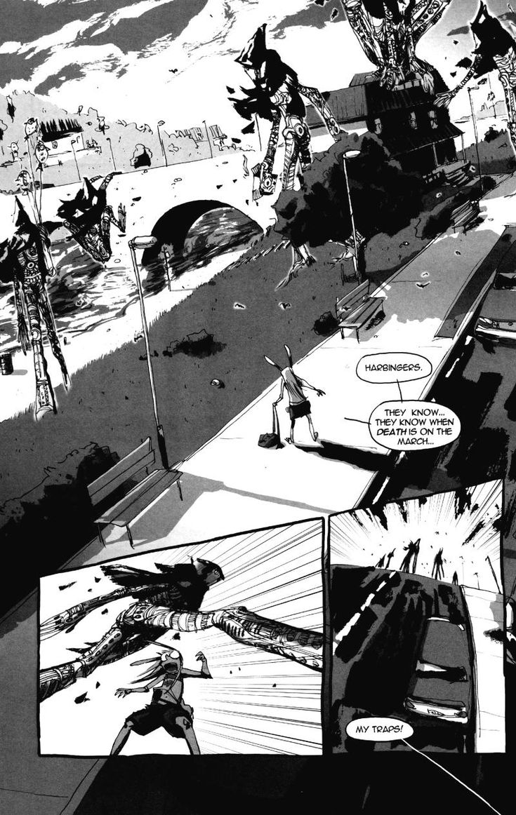 Page 14, Chapter 4 - I Kill Giants comic
