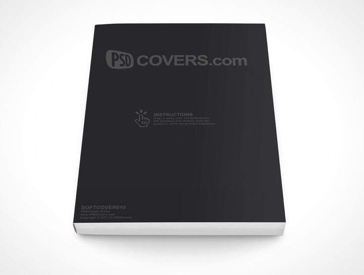 83 best ebook cover images images on pinterest ebook cover softcover010 is a softcover product shot most popular for handbook formats this psd mockup template pronofoot35fo Choice Image