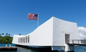 Groupon - Pearl Harbor & Arizona Memorial Tour for 1–8 with Transportation from Aloha Pearl Harbor Tour (Up to 53% Off) in Multiple Locations. Groupon deal price: $39
