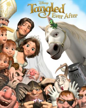 Poster Of Tangled Ever After (2012) In Hindi English Dual Audio 25MB Compressed Small Size Pc Movie Free Download Only At …::: Exclusive On All-Free-Download-4u.Com Team :::…