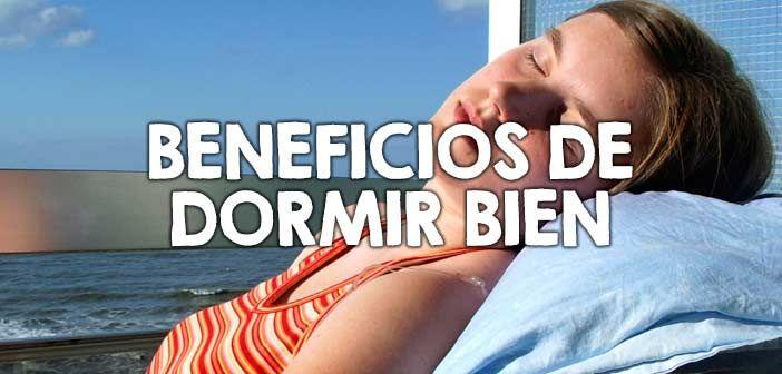 Dormir bien un hábito saludable que genera múltiples beneficios