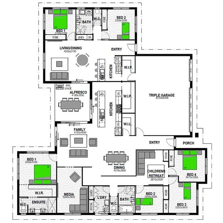 100 best house floor plans images on pinterest dream for Highgrove house floor plan