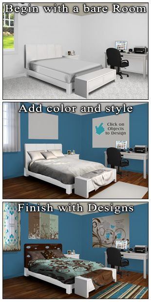Create Your Own Beautiful Bedroom Decor With Our Build A Room Tool