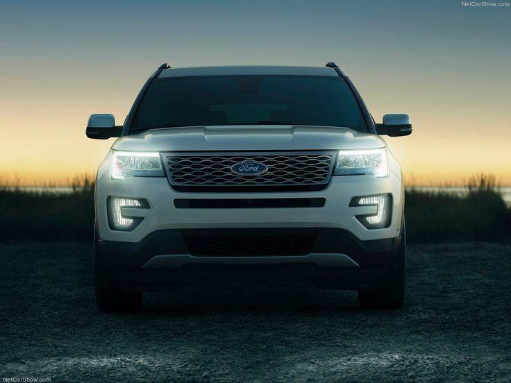 2016 Ford Explorer White -