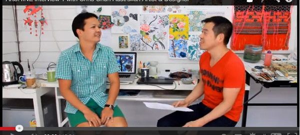 ARTShine Video Interview in Chiang Mai