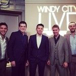The handsome and talented members of Celtic Thunder Official will be performing songs from their holiday Symphony Tour this morning on Windy City LIVE. Don't miss it at 11am!