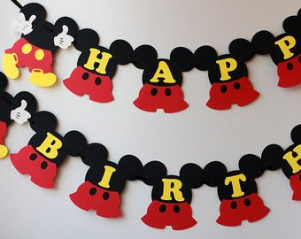 mickey mouse party – Etsy PT