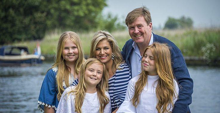 Fotosessie koninklijk gezin 2017