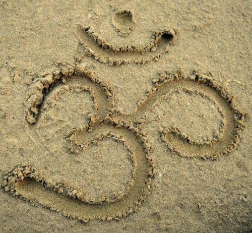 ohmThe Universe, At The Beach, Namaste, Spirituality, Meditation, Sanskrit Sands, Beach Yoga, The Roots, Sandy Ommmmmmmm