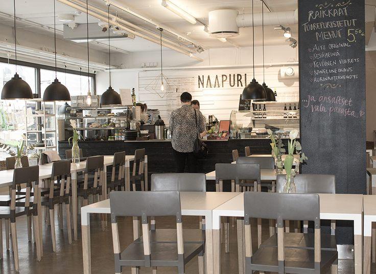 Bistro Naapuri ent. Stockmannin tiloissa, myös Putiikki Rannalla, Minzi ja antiikkiliike ravintolat ostokset shopping Tampere