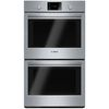 Shop Bosch 500 Series Double Electric Wall Oven (Steel-Stainless) (Common: 30-in; Actual: 29.75-in) at Lowes.com