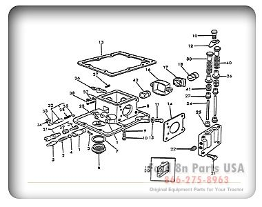 ford 8n 10a01 hydraulic pump ford tractor pinterest. Black Bedroom Furniture Sets. Home Design Ideas