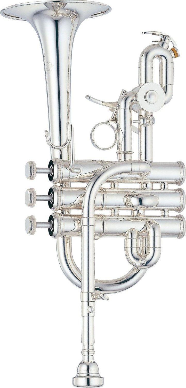 Yamaha YTR-9825 Custom Bb / A Piccolo Trumpet | Silver Finish
