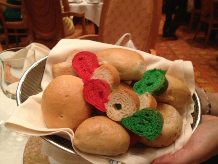 It's Italian Evening and our bakers have baked special themed bread for the occasion. Costa Cruises