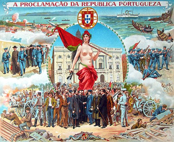 Implantação da República Portuguesa – Wikipédia, a enciclopédia livre
