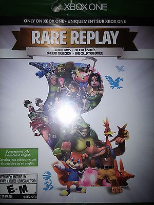 awesome Xbox One Rare Replay Game BRAND NEW FACTORY SEALED XboxOne 1 - For Sale View more at http://shipperscentral.com/wp/product/xbox-one-rare-replay-game-brand-new-factory-sealed-xboxone-1-for-sale/