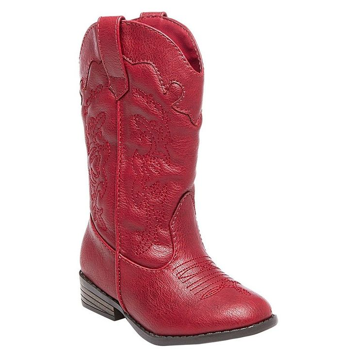 Toddler Girls' Natalia Authentic Cowboy Western Boots Cat & Jack -