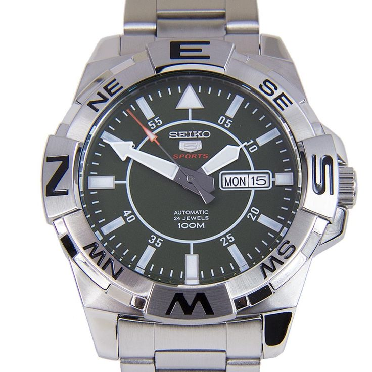 Chronograph-Divers.com - Seiko 5 Sports SRPA59K SRPA59 Automatic 24 Jewels Silver Stainless Steel Bracelet Gents Watch, $157.00 (https://www.chronograph-divers.com/seiko-5-sports-srpa59k-srpa59-automatic-24-jewels-silver-stainless-steel-bracelet-gents-watch/)