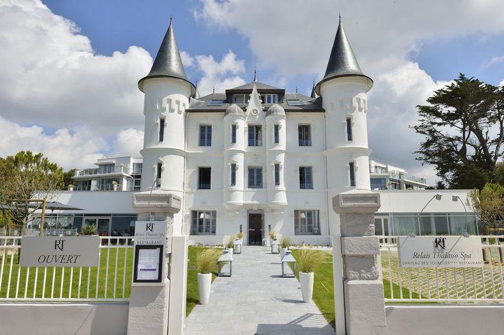 Château des Tourelles, Hotel Thalasso Spa Baie de La Baule Pornichet, réservation et tarifs