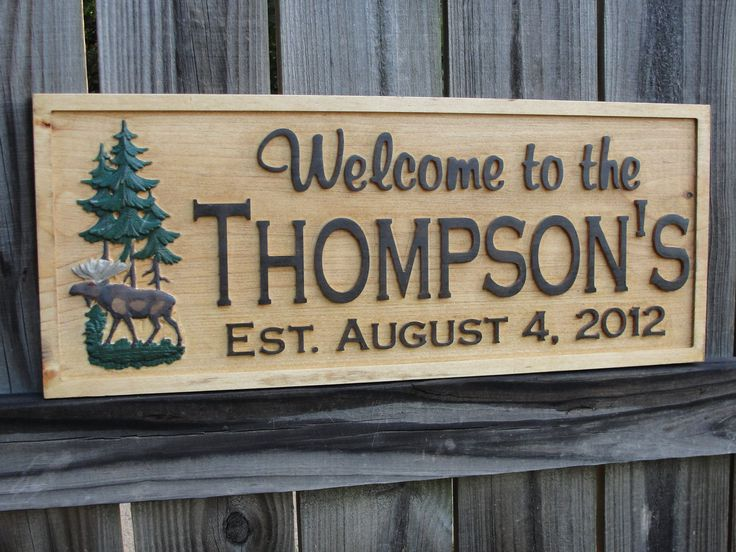 26 best cabin signs images on pinterest cabin signs for Cabin signs wood