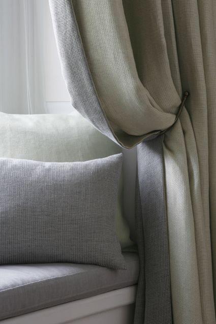 Grey Linen Bed Valance : Best gordijnen images on blinds living