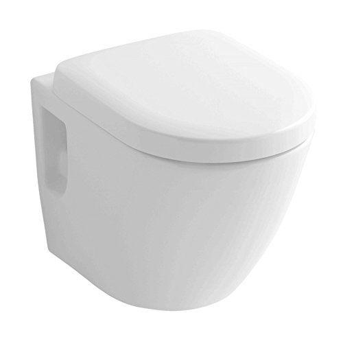 wand wc tiefspüler spülrandlos