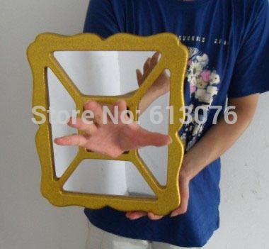 110.00$  Watch here - http://aiknx.worlditems.win/all/product.php?id=32282481355 - hand thru mirror, best stage magic trick - Magic trick, close up magic, coin magic, money