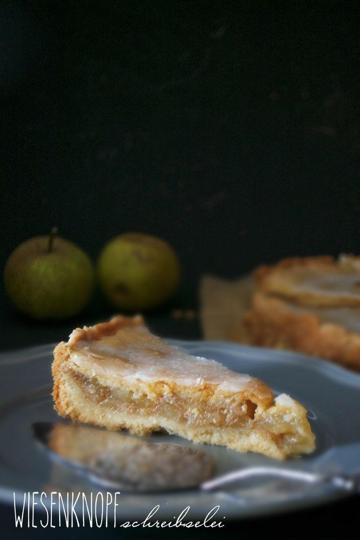 Wiesenknopfschreibselei: Gedeckter Apfelkuchen - Backen mit Mürbeteig
