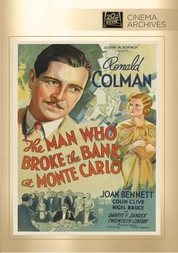 The Man Who Broke the Bank at Monte Carlo [DVD] [1935]