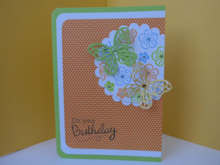 Card I made for a Papercraft Essentials commission using the free gift.