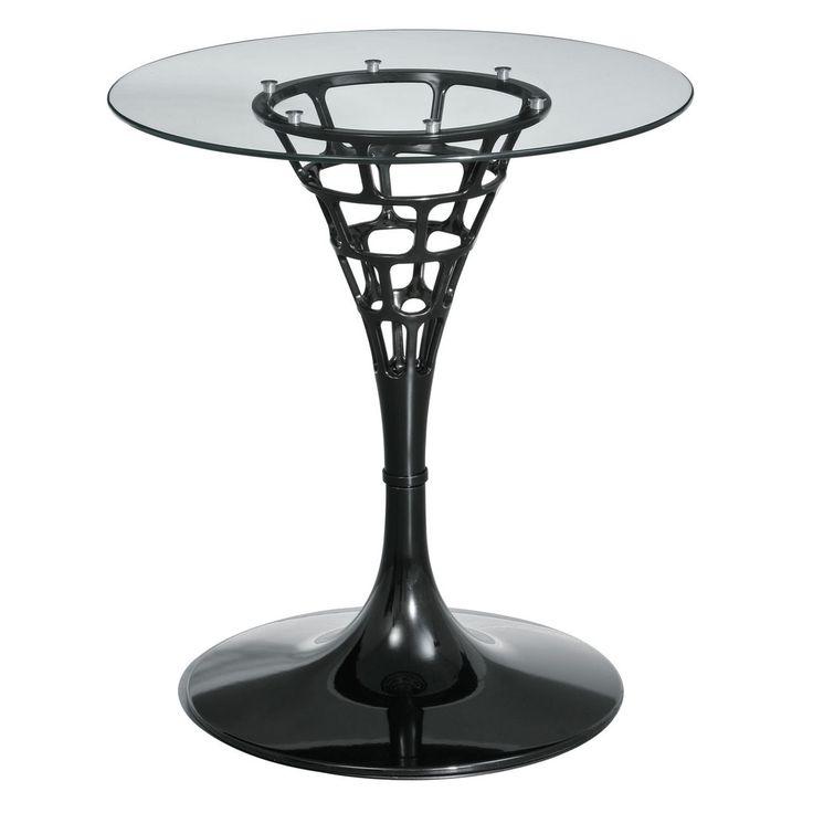 379 best tables images on pinterest | black glass, chrome finish