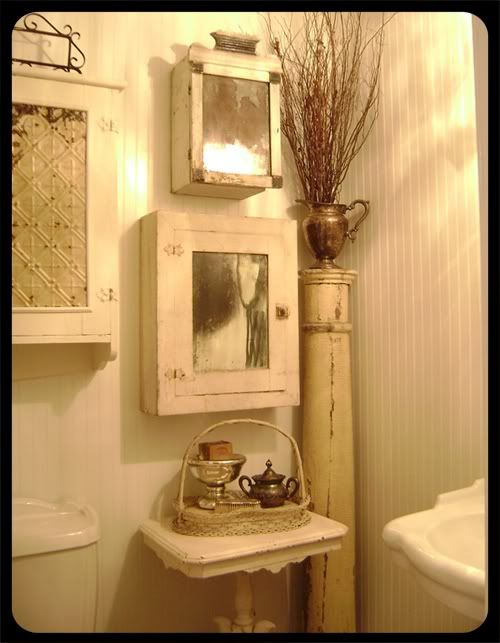 The Old Painted Cottage Bathroom Bathrooms Pinterest Painted Cottage The Old And Old