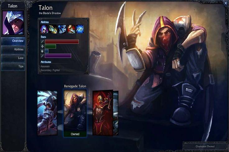 Talon Build Ultimate Mid #leagueoflegends