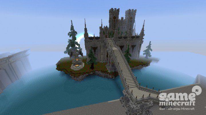Скачать карту на Майнкрафт 1.7.10 Крепость