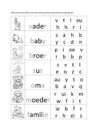 thema familie werkbladen - Google zoeken