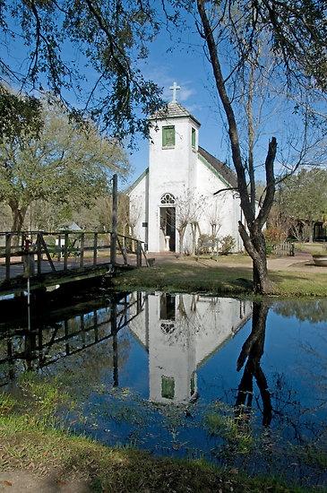 New Hope Chapel-Acadian Village Lafayette, Louisiana-where we got married.